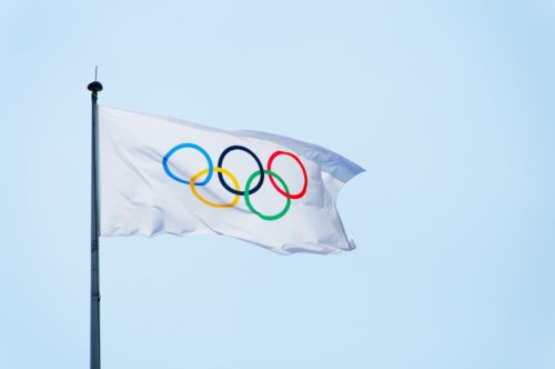 the origin of the olympic flag dates all the way back to 1914