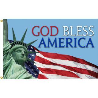 Good Bless America Flag