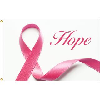 hope ribbon flag