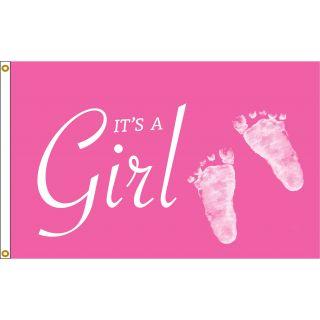 it's a girl flag