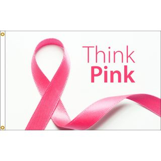 think pink flag