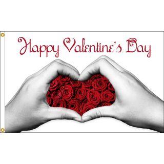 valentine hands day