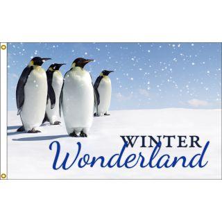 Winter Wonderland Flag