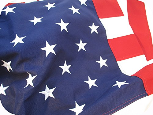 12x18 FT US American Flag Annin Nyl-Glo Nylon Flag Sewn  6 Rows of Stitching